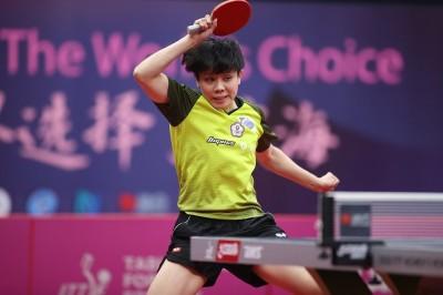 桌球年終賽》逆轉泛美運動會金牌 鄭怡靜第3度闖進8強
