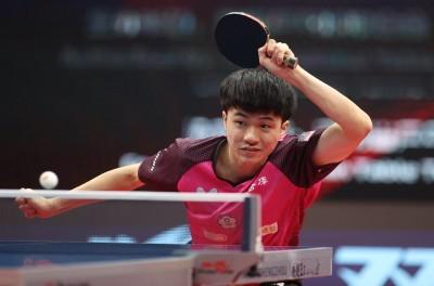 桌球年終賽》苦戰6局仍不敵許昕 林昀儒連兩年止步8強