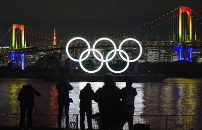 奧運》奧運五環地標再放光芒!檢修後今重回東京台場
