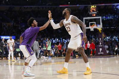 NBA》「希望湖人能帶他回來...」 冠軍後衛被裁詹皇超不捨