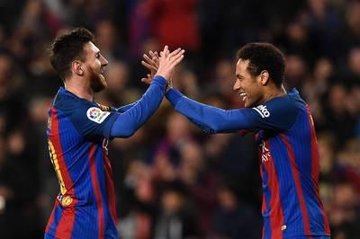 足球》下季想與梅西再相聚 內馬爾:我們必須要!