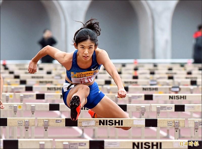 全國田徑賽 百米跨欄奪金 聽障女將許樂寫驚奇