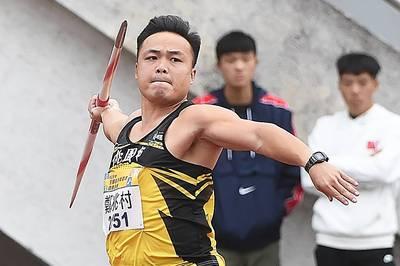 全田賽》又超奧運標!「黃金右臂」鄭兆村秀世界級實力破85公尺奪金