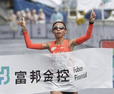 防疫有成》「馬拉松寶貝」曹純玉破全國紀錄 奪國內女子組冠軍