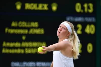 網球》超勵志! 不把手足發育不全當劣勢 英國女將闖進澳網會內賽