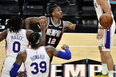 NBA》灰熊新人王復出首秀 技壓七六人喜獲4連勝