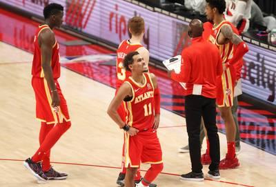 NBA》老鷹少主怎麼了? 三分9投1中、遭拓荒者逆轉吞敗