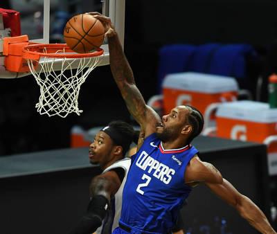 NBA》雷納德超狂「巨掌 」抄截讓網友看傻 快艇收5連勝