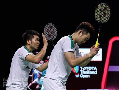 羽球》超強!「麟洋配」扳倒印尼世界冠軍 連兩週挺進冠軍戰