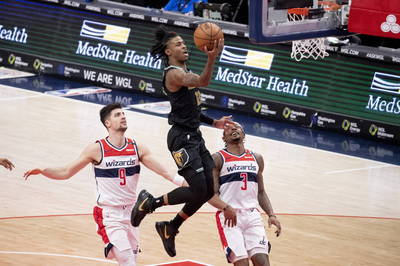 NBA》莫蘭特飆35分10助攻 灰熊擊倒巫師收2連勝