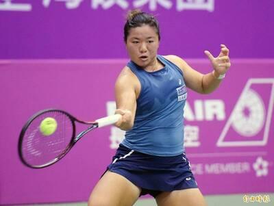 網球》台灣小鋼砲杜拜奏捷 射日首闖WTA千分大賽會內