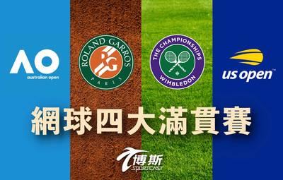 網球》好消息!博斯體育台正式宣布獨家轉播年度4大滿貫