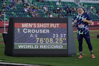 田徑》東奧連霸穩了!克勞斯半年內刷新室內、室外鉛球世界紀錄