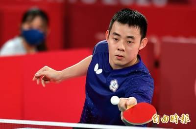東奧桌球》陳建安盡力了! 父:台灣下一屆仍很有可能拿牌