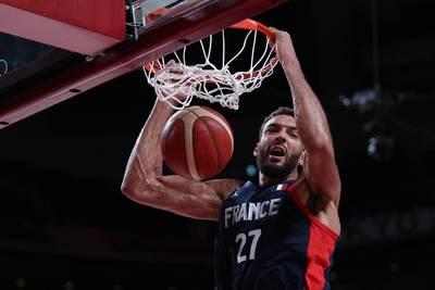 東奧籃球》「法國巨塔」戈貝爾轟22分 率隊晉四強戰東契奇
