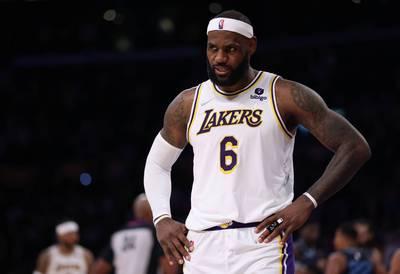 NBA》右腳險發生上季慘案 詹皇:別再來了