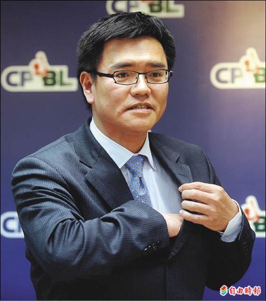 中職新任秘書長梁功斌。(資料照,記者林正堃攝)