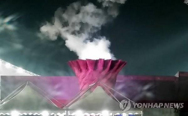本屆亞運頻頻出包,南韓媒體列出10大罪狀,其中聖火離奇熄滅更是引起國際笑話。(圖擷取自韓聯社)