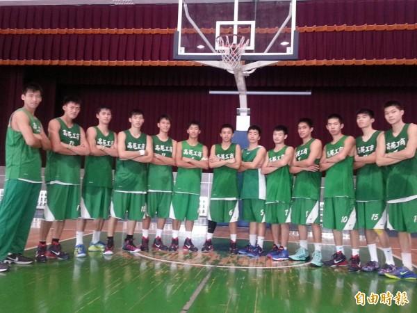 高苑工商籃球隊重返榮耀,指日可待。(記者洪定宏攝)