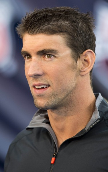 獲得奧運史上最多金牌數(18枚)的美國「飛魚」菲爾普斯(Michael Phelps),因為酒駕和超速被判1年有期徒刑,緩刑18個月。(資料照,法新社)