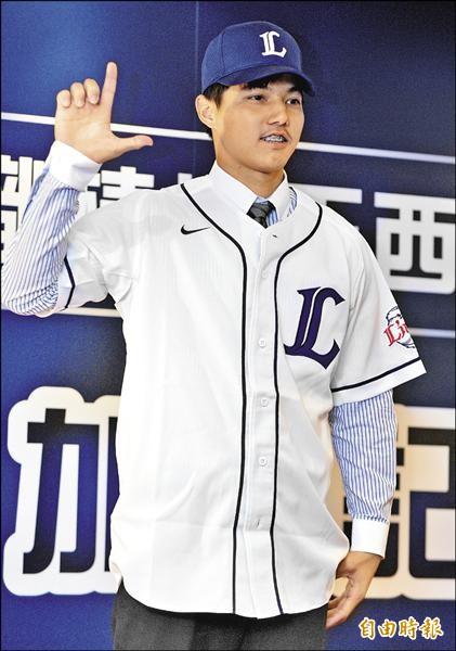 郭俊麟加盟西武獅,新球季目標直指太平洋聯盟新人王。(資料照,記者王藝菘攝)