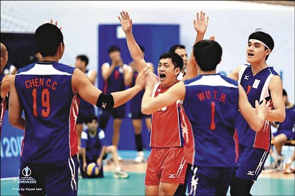 台灣在男排亞錦賽不敵澳洲,拿下第六名,但已是自2001年以來最佳成績。(取自伊朗排協官網)