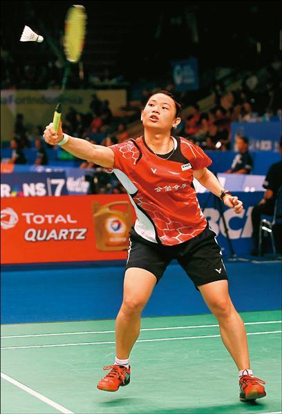 戴資穎在世羽錦標賽擊敗加拿大華裔女將李文珊,晉級8強。(資料照,Badmintonphoto提供)