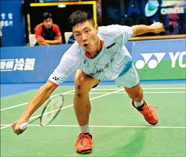 台灣「羽壇一哥」周天成在丹麥羽球超級系列賽男單四強戰,不敵印尼名將蘇吉雅托。(資料照)
