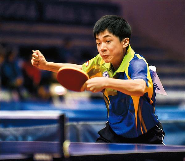 14歲的林昀儒在排名賽脫穎而出,成為史上最年輕的世桌賽國手。(桌協提供)