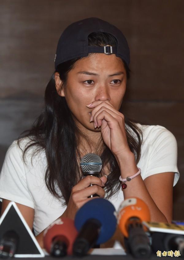 謝淑薇在臉書拋出震撼彈,表示從台灣網壇退休,不再接受國家隊徵召,引發外界關注。(資料照,記者簡榮豐攝)