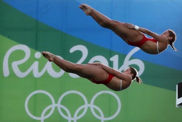 奧瓦娜與英格麗德曾是好搭檔,兩人曾在泛美運動會獲得銀牌。(歐新社)