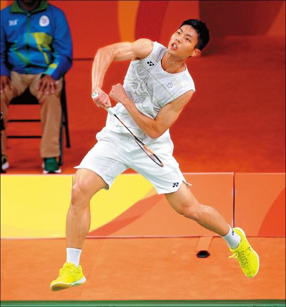 日本超級系列賽,周天成首輪將面對香港魏楠。(資料照)