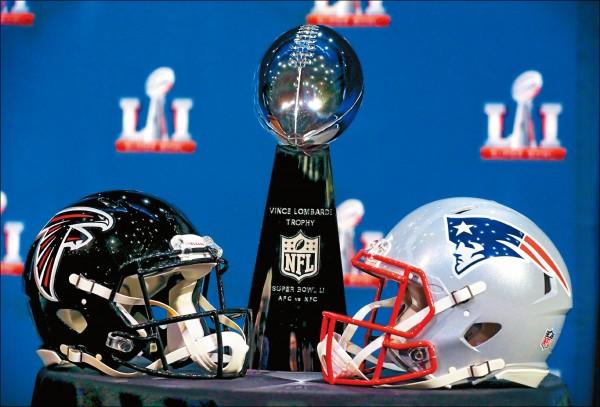 美式足球NFL第51屆超級盃台灣時間6日於休士頓開打。(歐新社)