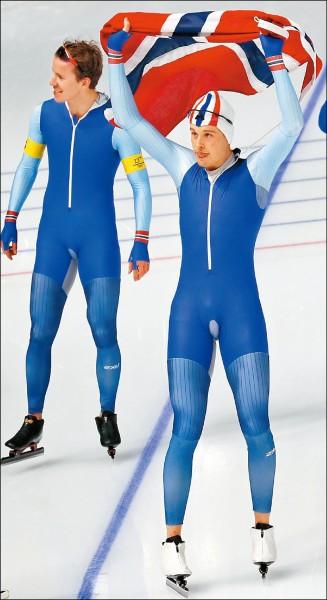 挪威本屆已獲13金,高居冬奧獎牌榜首位。(歐新社)