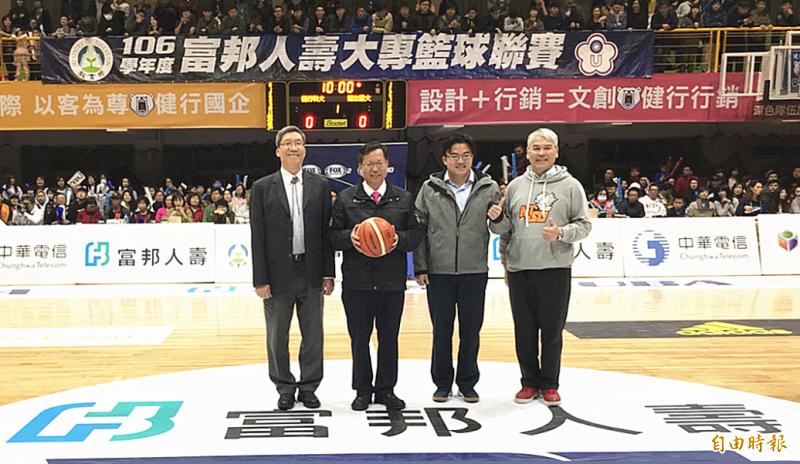 – UBA》大專籃球聯賽公開男一級八強賽開戰 健行拚二連霸