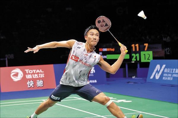 亞運即將開幕,世錦賽男單冠軍桃田賢斗將對各國好手造成威脅。(歐新社資料照)