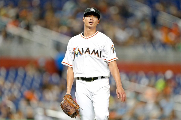 球評認為陳偉殷也許曲球可以多用一點,讓打者更容易被擾亂。(法新社)