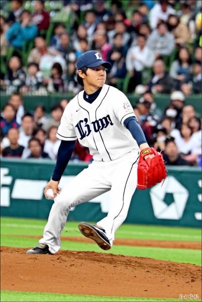 西武郭俊麟去年因傷沉寂一季,如今終於盼得重返一軍機會,迎接生涯第4季。(資料照)