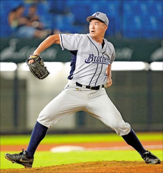 中信兄弟鄭錡鴻將參加佛州棒球訓練營。(資料照)