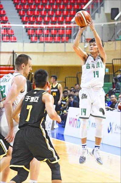 台啤蔣淯安獲選雙料MVP。(資料照)