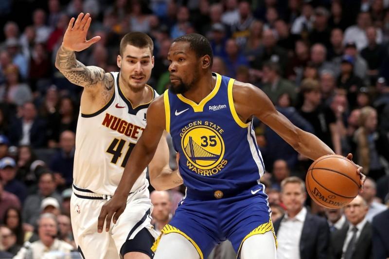 NBA》第一節狂灌51分 勇士粉碎金塊奪西區第一