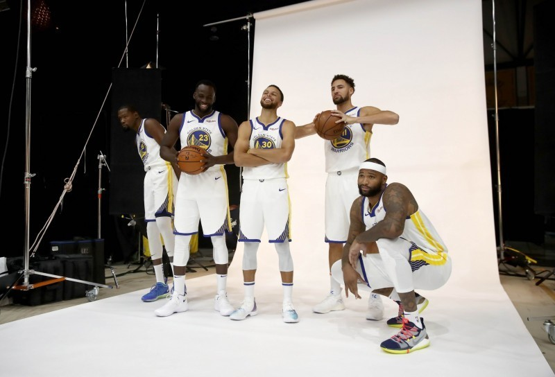 NBA》逆天「五連星」還不滿足? 勇士仍醞釀補強