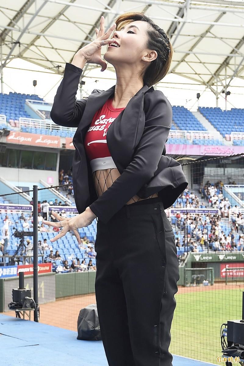中職》LamiGirls Mia 沐妍個人秀 帥氣性感驚豔全場