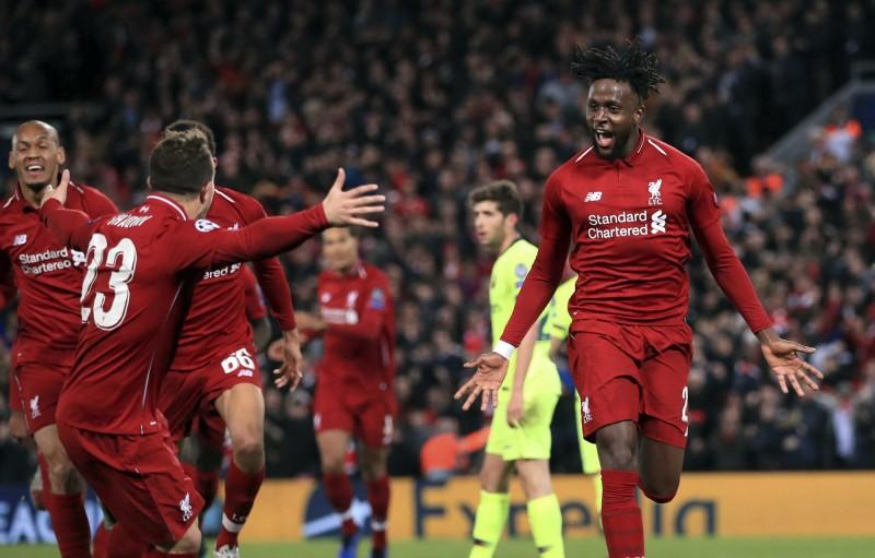 歐冠》太神奇!利物浦大逆轉梅西的巴塞隆納 晉級冠軍賽