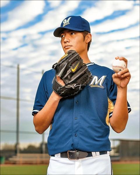 王維中將在今天運動家和水手隊的賽前向大聯盟報到,他也成為繼陳偉殷、林子偉及黃暐傑3人之後,在本季第4位升上大聯盟的台灣球員。(資料照,法新社)