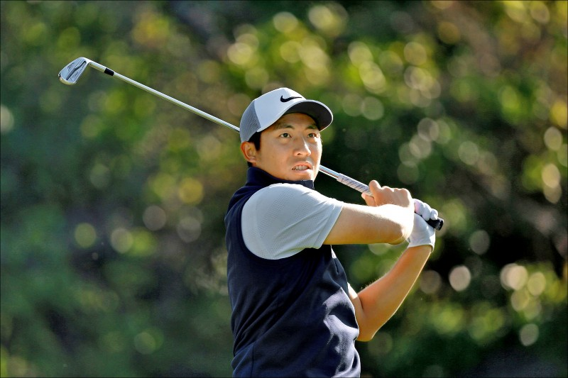 台灣好手潘政琮出征PGA美國公開賽。(資料照)
