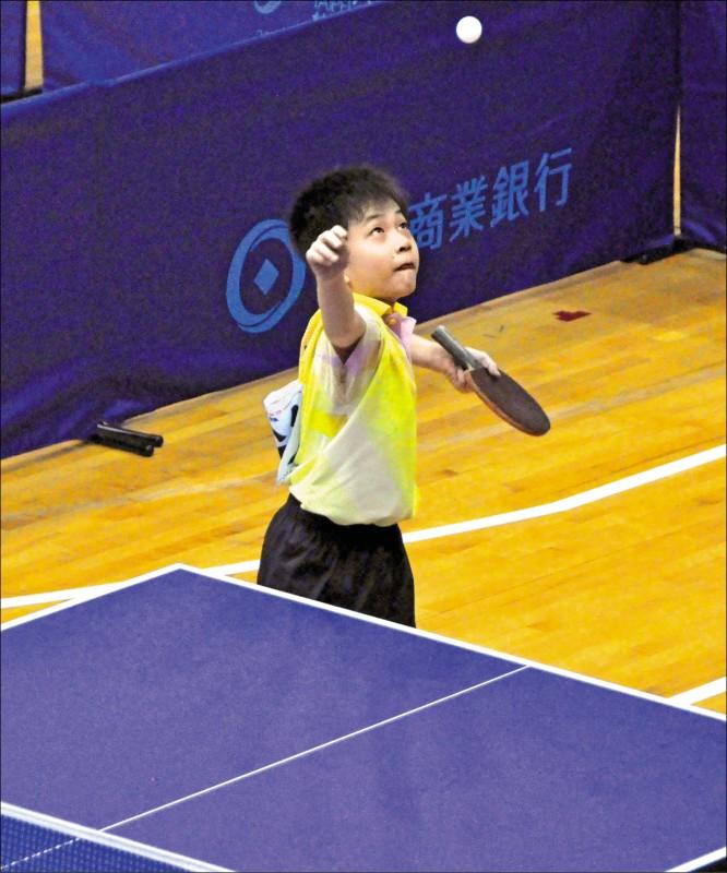2012年東亞少年錦標賽,林昀儒首次出國比賽,技壓中國強手,成為史上第一個在這項賽事奪冠的台灣選手。(資料照)