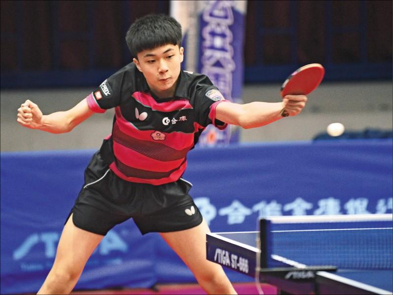 林昀儒世界排名飆升至16名,成為「台灣一哥」。(資料照)