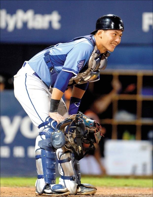 去年選秀狀元郎戴培峰,自認職棒首年心態進步很多。(資料照)