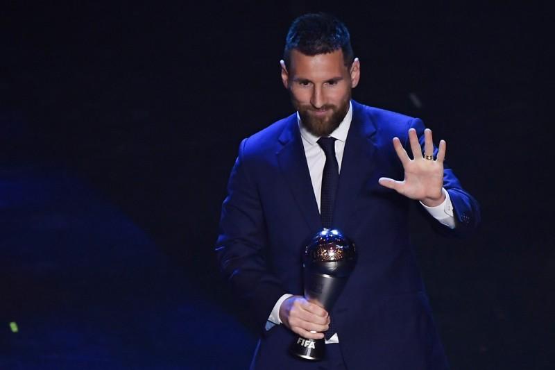 梅西力退C罗、范戴克 睽违4年再夺FIFA最佳